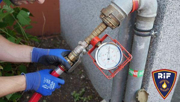 debitmetre maintenance des colonnes seches
